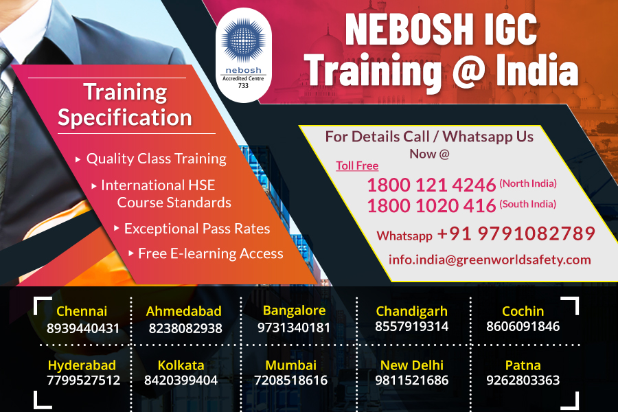 Health and safety training course | NEBOSH-IGC_Course_Chennai