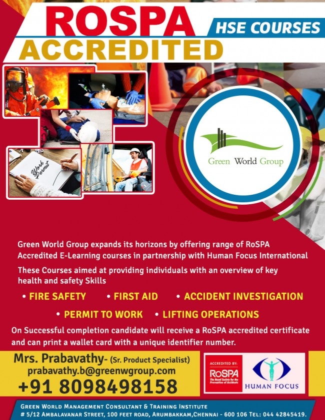 First Aid Course In India Rospa Training