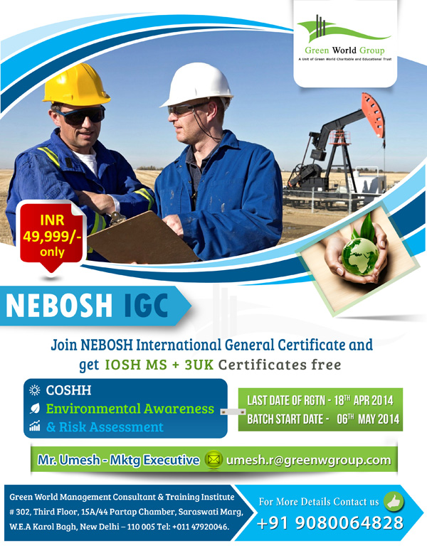 nebosh igc2 Nebosh igc certification course is currently listed amongst the 3 most  significant certification training in the field of health and safety engineering,  science and.