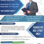 IRCA certified Lead auditor course