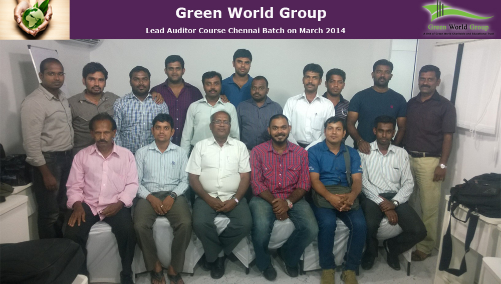 Lead Auditing Course Successfully Completed In Gwg Business Centre