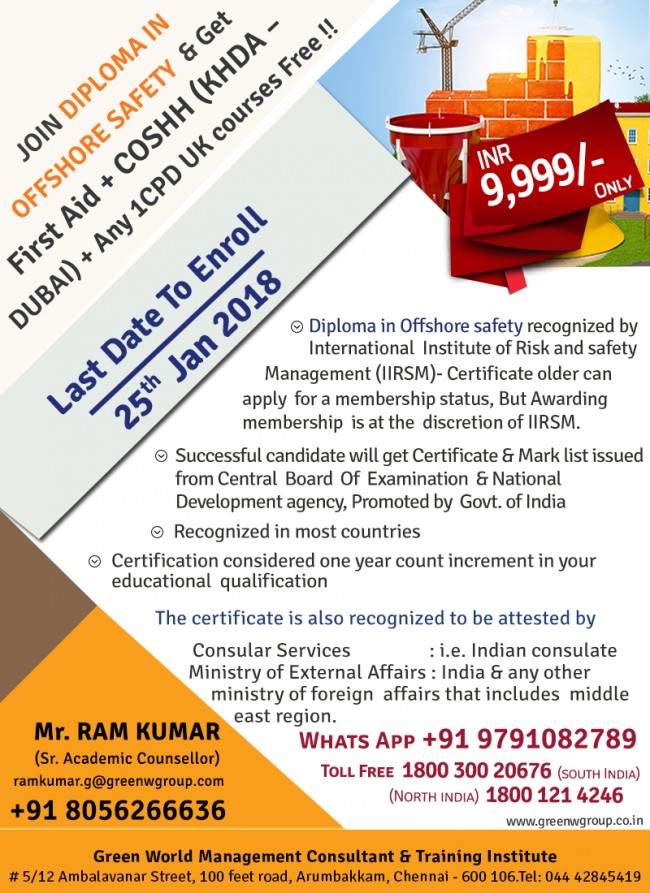 Diploma-IN-OFFSHore-safety