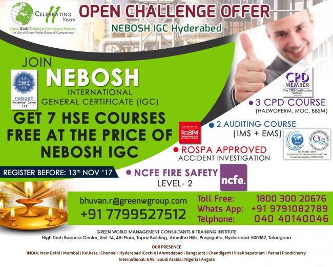 NEBOSH-IGC_Diwali_offer_Hyderabed