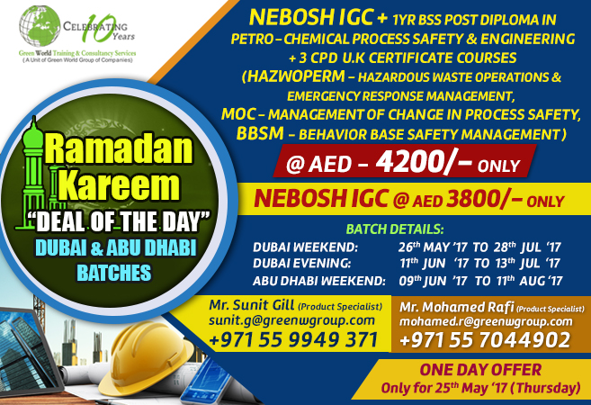 Nebosh Course Training In Abu Dhabi