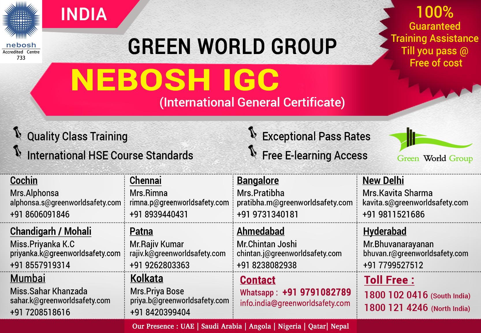 nebosh-training-course-india