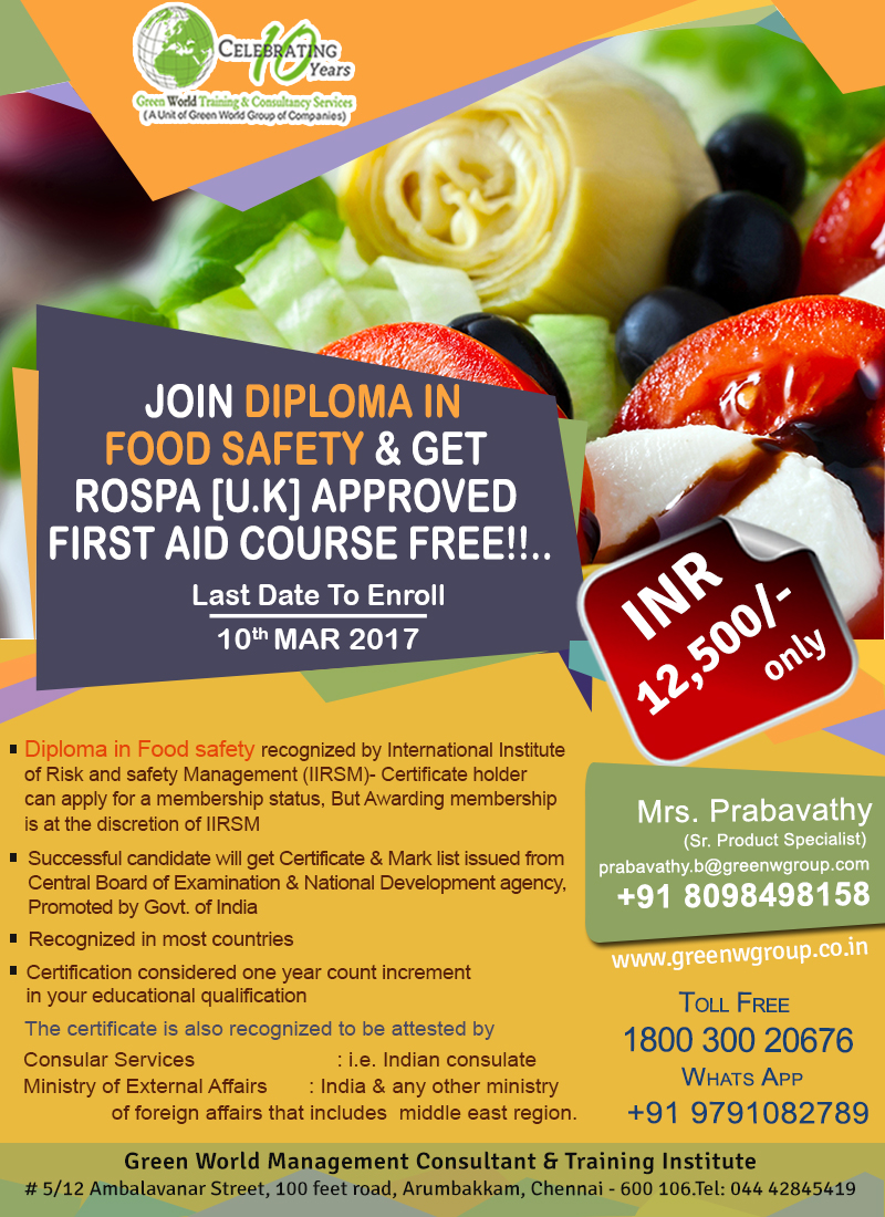 Diploma-in-Food-Safety_Ram