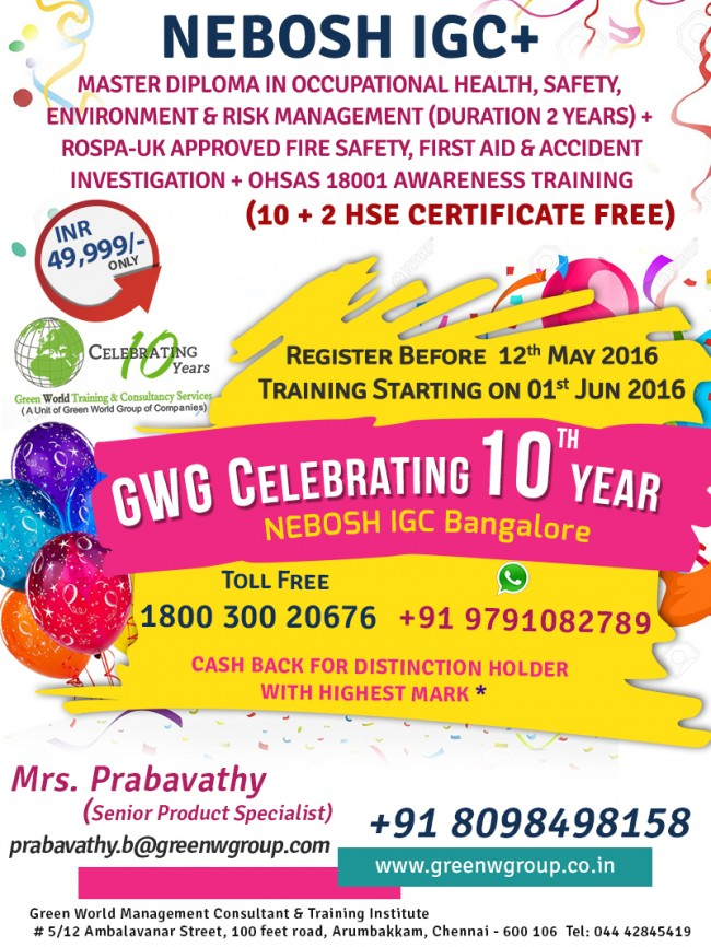 NEBOSH-IGC_Bangalore_Mar
