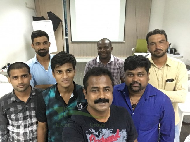 GWG - UAE - IOSH MANAGING SAFELY - CLASSROOM TRAINING - EVENING BATCH - JULY 2017 - TUTOR Mr
