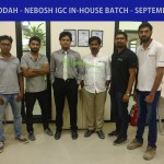 KSA - ICAD - JEDDAH - NEBOSH IGC IN-HOUSE BATCH - SEPTEMBER 2017 - TUTOR - Mr