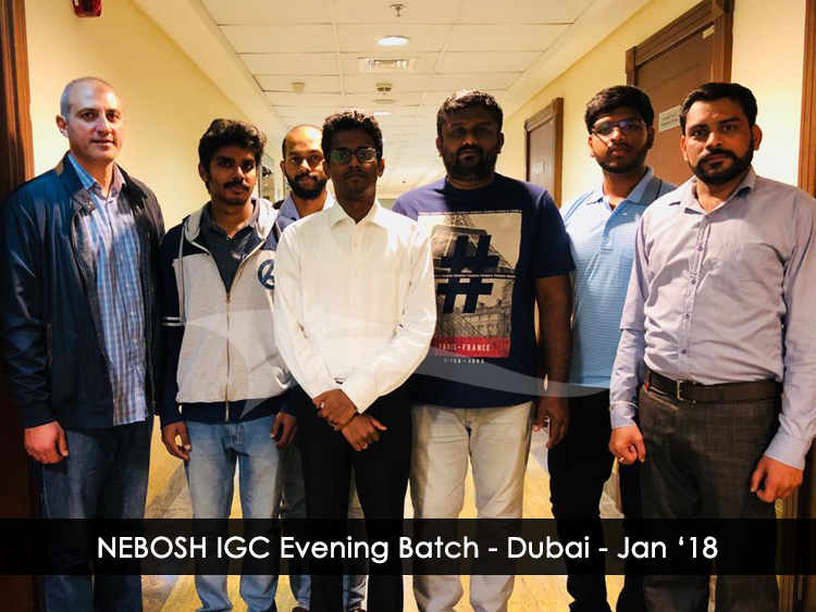NEBOSH-IGC-EVENING-BATCH---Dubai---JANUARY-2018