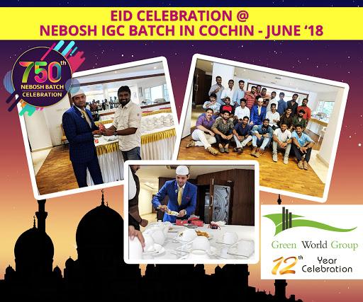 EID Celebration at Cochin NEBOSH IGC Batch