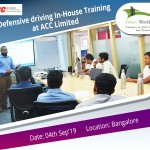 Defensive driving training ACC Limited Bangalore