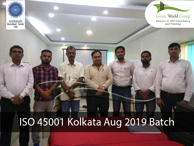 ISO 45001 Kolkata Aug 2019 Batch