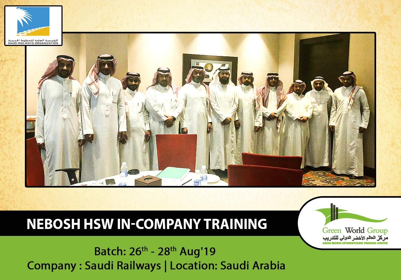 NEBOSH HSW IN-Company Training