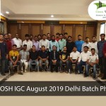 NEBOSH IGC August 2019 Delhi Batch Photo