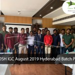 NEBOSH IGC August 2019 Hyderabad Batch Photo