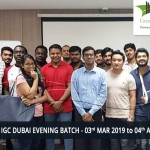 NEBOSH IGC DUBAI EVENING BATCH - 03rd MAR 2019 TO 04th APR 2019