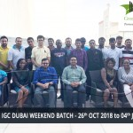 NEBOSH IGC DUBAI WEEKEND BATCH - 26th OCT 2018 to 04th JAN 2019
