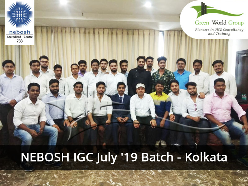 NEBOSH IGC July '19 Batch - Kolkata