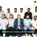 NEBOSH IGC Chennai OCT 2019 Batch