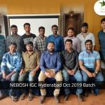 NEBOSH IGC Hyderabad Oct 2019 Batch_a