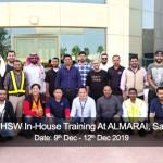 NEBOSH HSW In-House Training At ALMARAI, Saudi Arabia