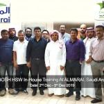 NEBOSH HSW In-House Training At ALMARAI, Saudi Arabia_copy