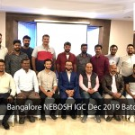 Bangalore Nebosh IGC Dec 2019 Batch
