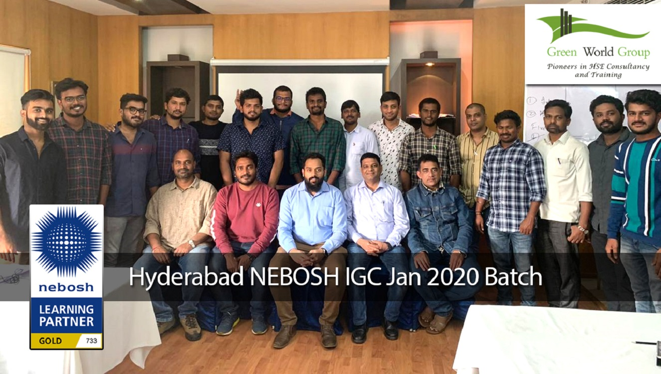 Hyderabad NEBOSH IGC Jan 2020 Batch