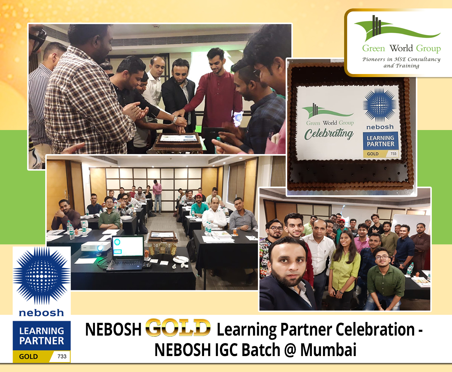 NEBOSH GOLD Learning Partner Celebration - Nebosh IGC Batch @ Mumbai