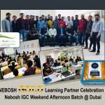 NEBOSH GOLD Learning Partner Celebration - Nebosh IGC Weekend Afternoon Batch @ Dubai