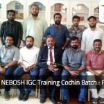 NEBOSH IGC Training Cochin Batch - Feb'20