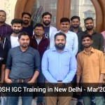 NEBOSH IGC Training in New Delhi - Mar'20 Batch