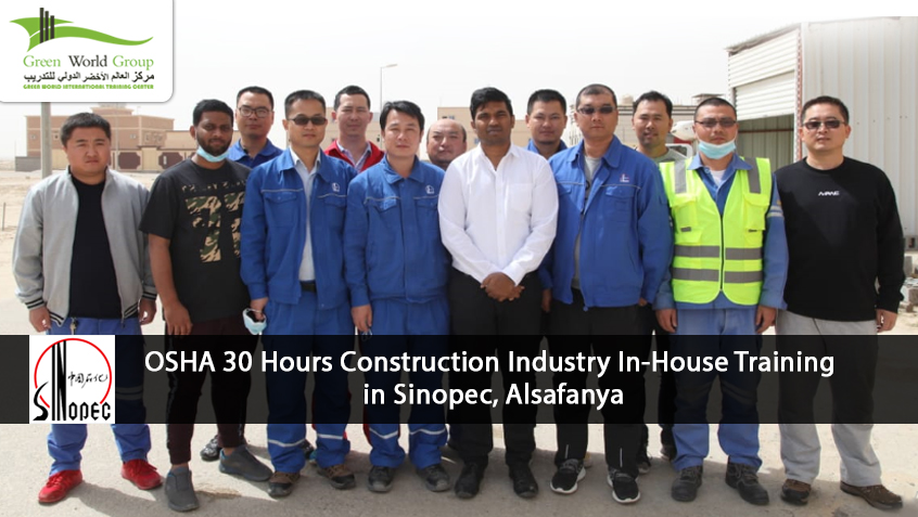 OSHA 30 Hours Construction Industry In-House Training