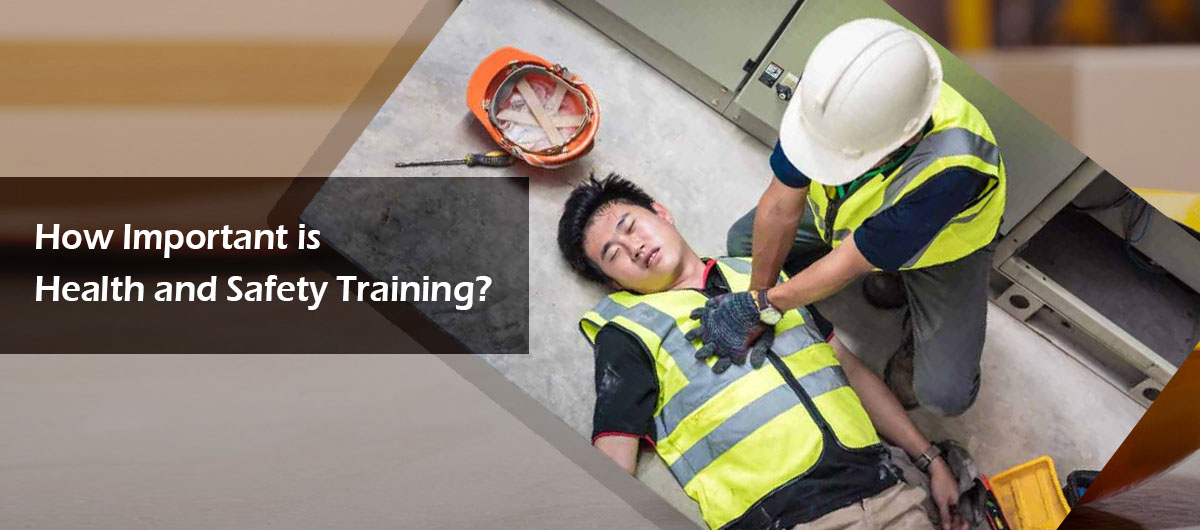 How important is health & safety training blog banner