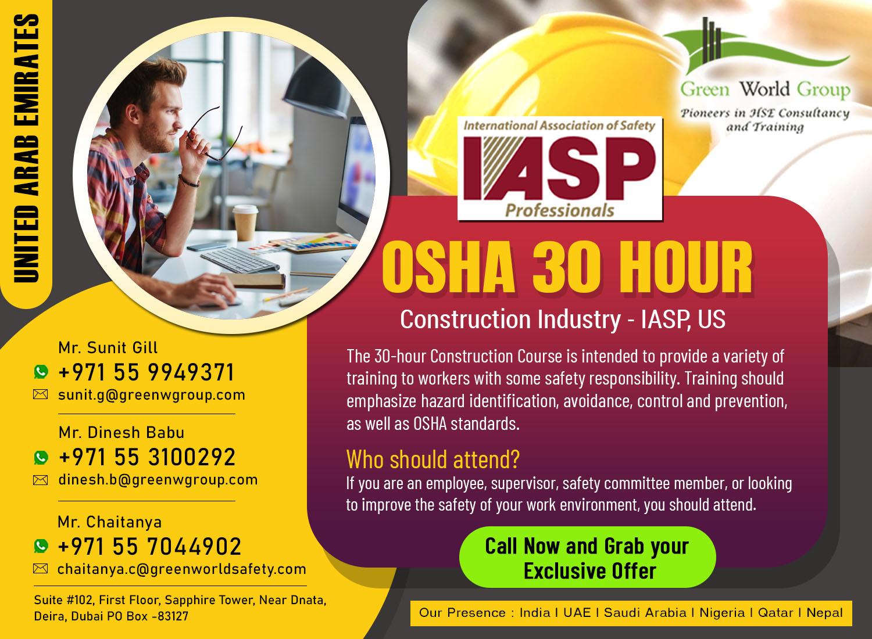 OSHA 30 Hour